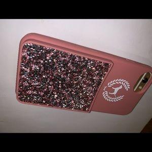 Pink Victoria's Secret Phone Case